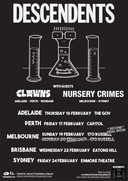 descendents oz poster