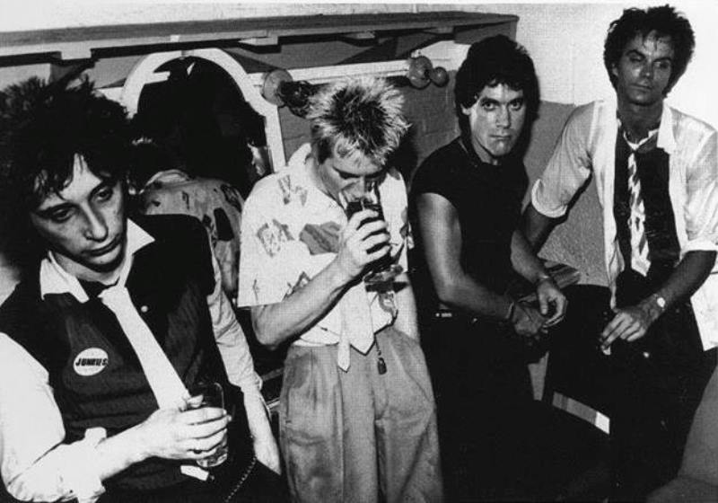 heartbreakers backstage village gate 1977