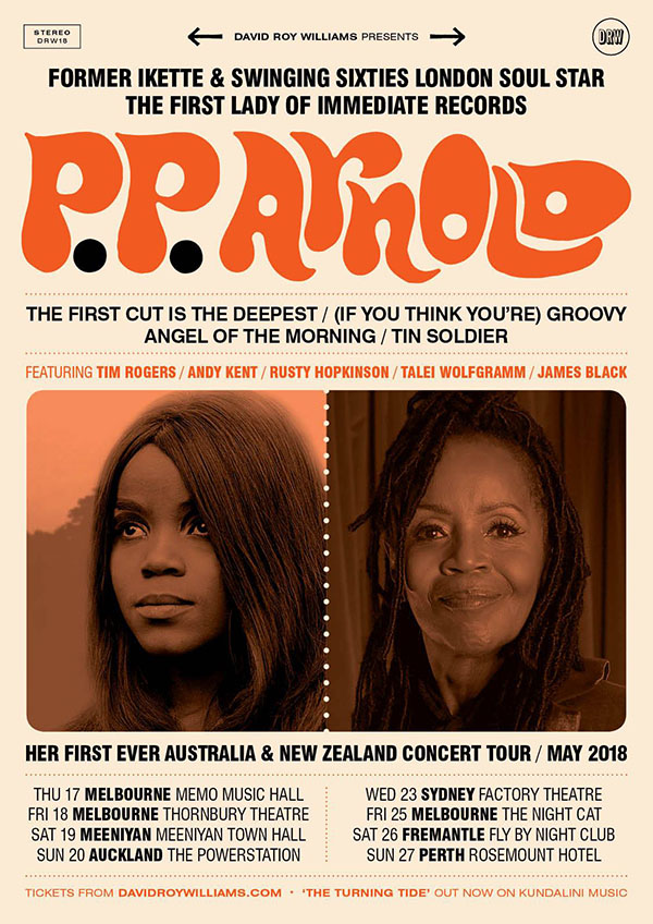 pp arnold oz tour