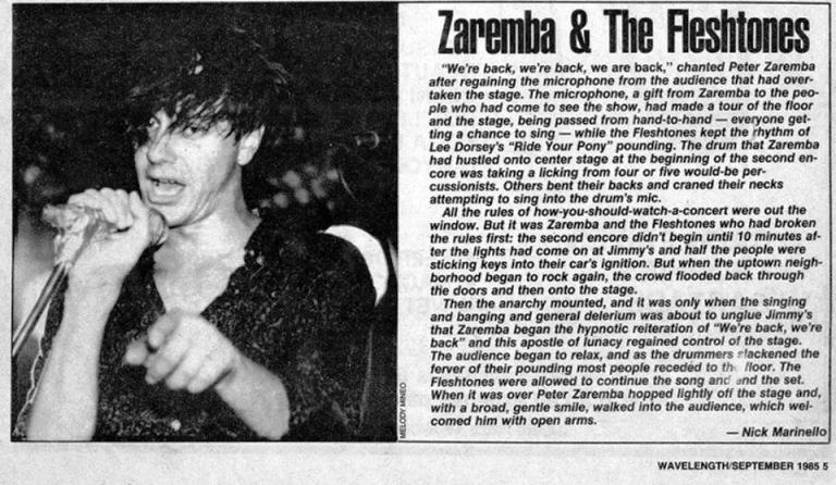 zaremba clipping